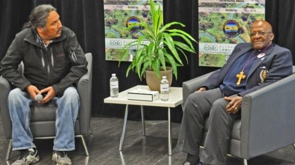 Chief Alan Adam & Desmond Tutu