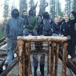 Masked thugs at the Unist'ot'en Camp