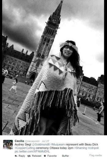 Audrey Siegl in Ottawa this week