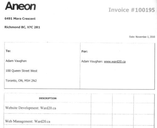 Worst invoice ever...