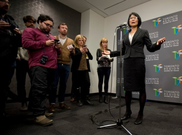 """Olivia Chow: """"We have to go out and sell ourselves..."""""""