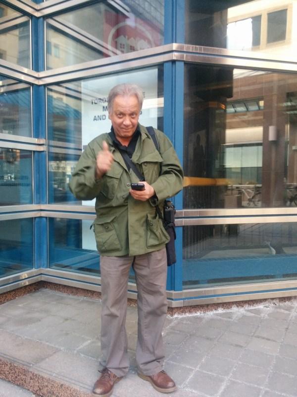 Occupy Toronto's David Kahan