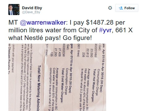 NDP MLA David Eby spreads misinformation...