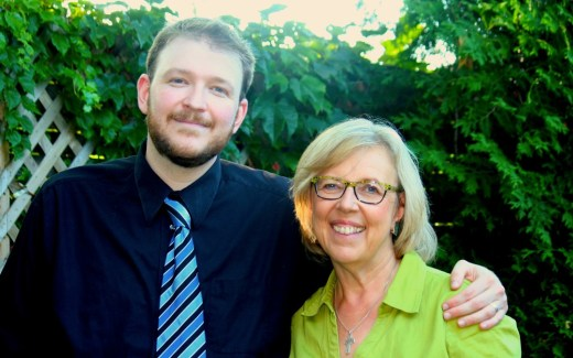 Scarborough Candidate Tommy Taylor with Elizabeth May