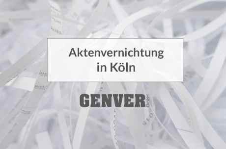 Aktenvernichtung in Köln
