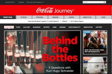 Content Marketing de Coca Cola