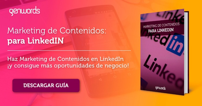 eBook Marketing de Contenidos Linkedin