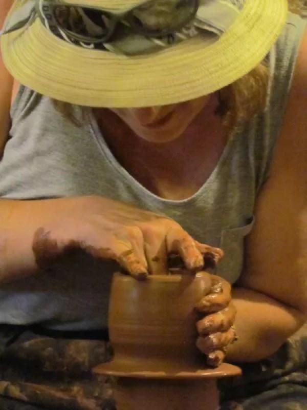 Potting in Cappadocia