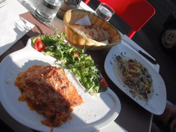Lasagne in Rome