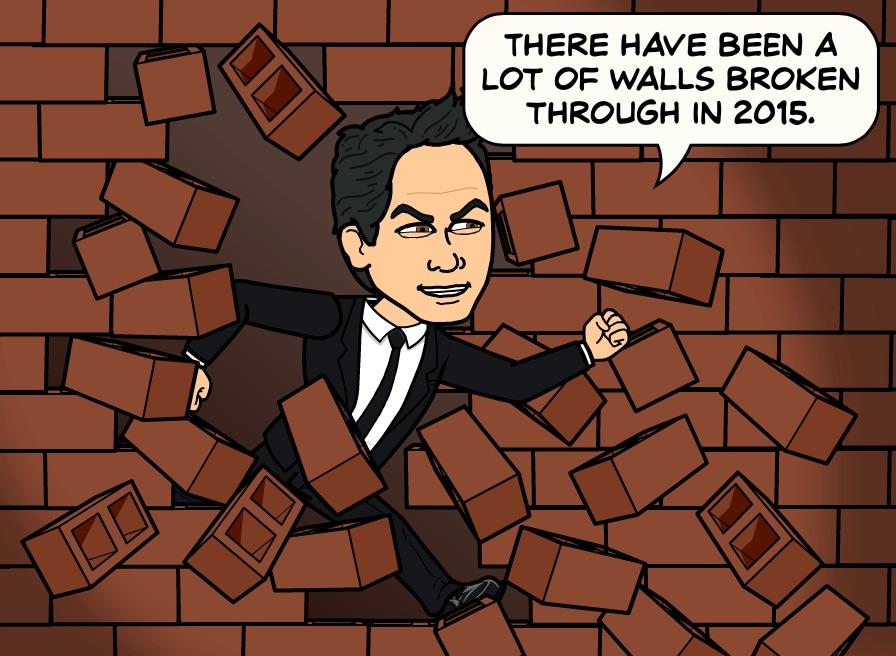 Breaking Through Walls