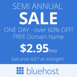 Bluehost Special