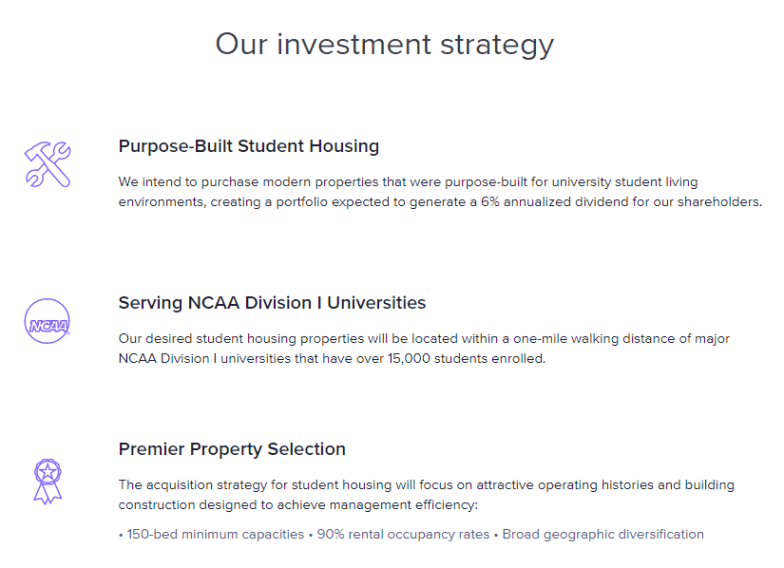 RU Student Housing Investment Strategy