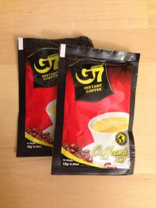 G7 Brand 3 in 1 coffee