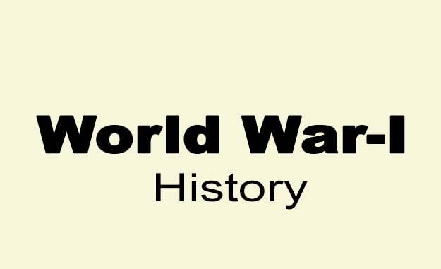 प्रथम विश्व युद्ध