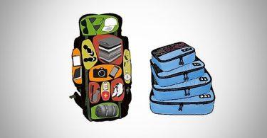 meilleur organisateur sac bagage voyage