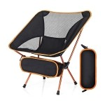 chaise camping pliable voyage