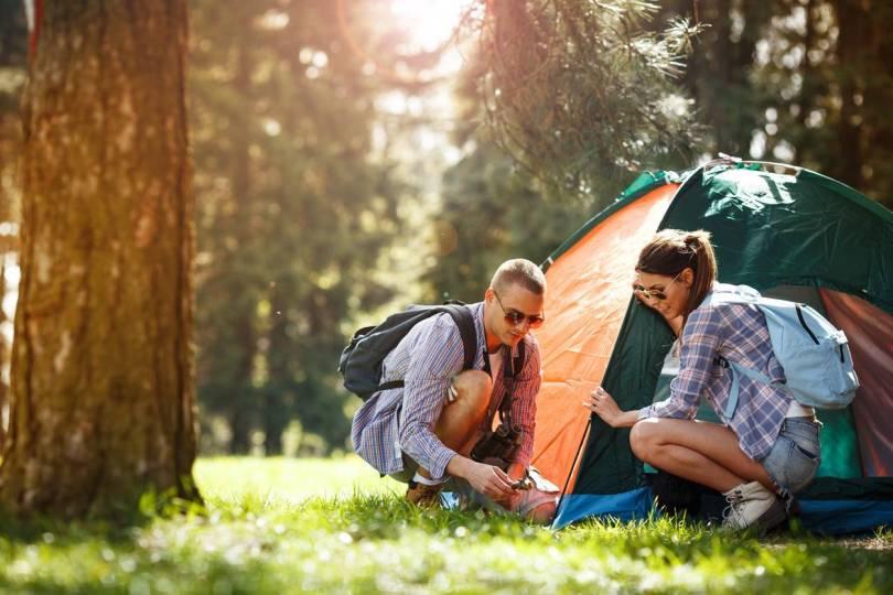 vêtements et accessoires camping