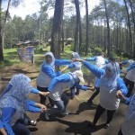 Gathering Outbound Puskesmas Karang Bahagia