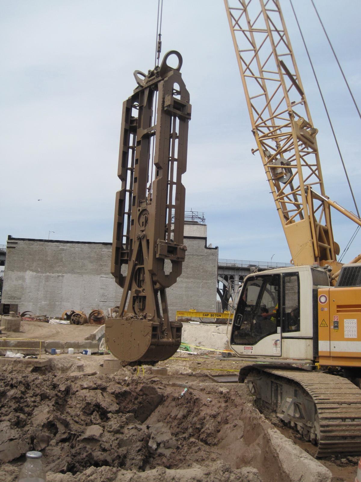 Clamshell Buckets 187 Equipment Excavating Slurry Walls