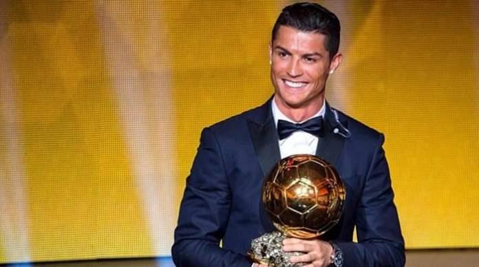 2017 Balon D'or winner Ronaldo