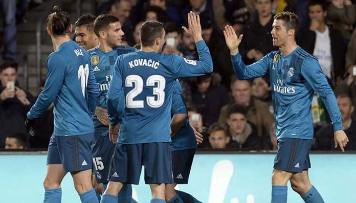 Real Madrid win eight-goal thriller, Atletico keep up Barca chase   Sports Real Madrid win eight-goal thriller, Atletico keep up Barca chase   Sports 182605 5726256 updates