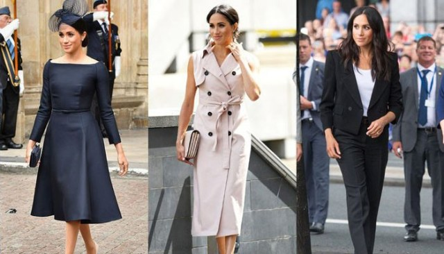 Image result for How Meghan Markle's style has changed post-marriage