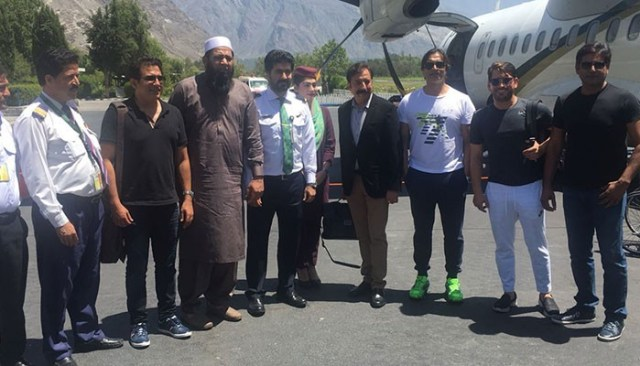 Image result for Lahore Qalandars coaching team arrives in Gilgit for players' development programme