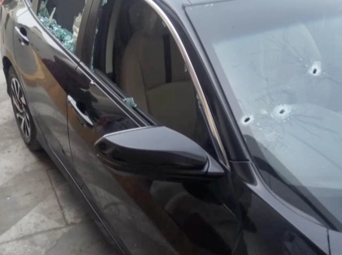 Mufti Taqi Usmani's car