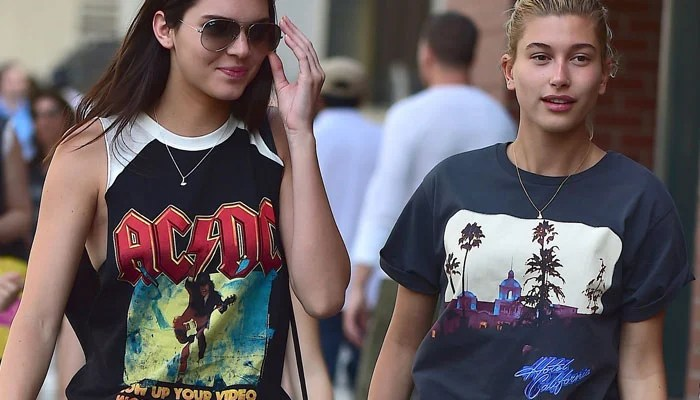 352068 2171928 updates Kendall Jenner happily shocked as Hailey Baldwin was caught by lie detector