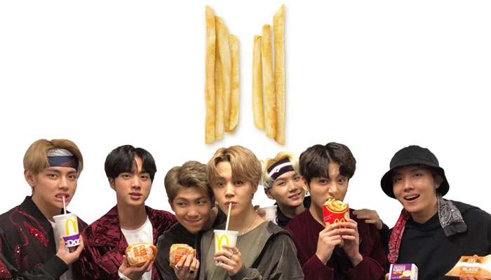 352123 2339243 updates Watch: BTS unveil brand new fast-food collaboration video