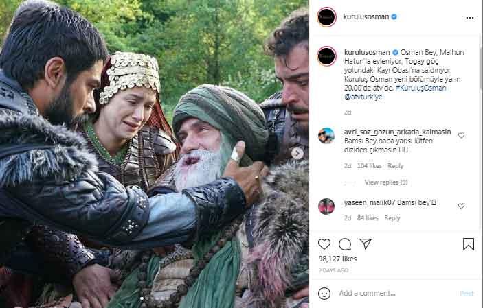 352155 3268925 updates Bamsi Bey dies in 'Kurulus:Osman's new episode