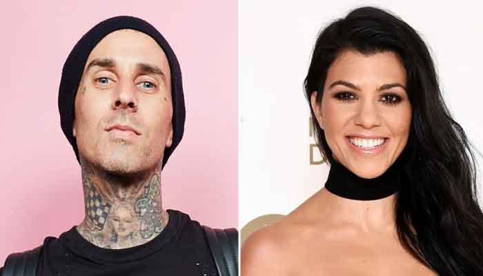 356945 9429522 updates Kourtney Kardashian steps out with Travis Barker at magazine party