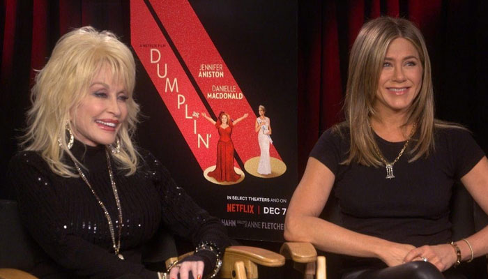 Jennifer Aniston revealed how Dolly Parton joined the film after she allowed her music to be used for it