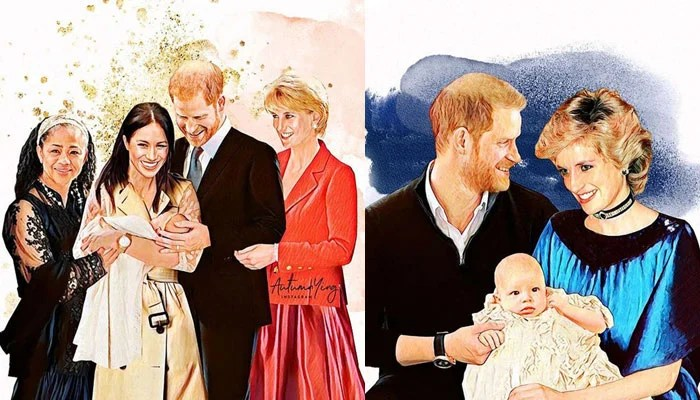 What royal family wouldve looked like if Princess Diana was still alive: See photos