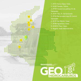 🍃Contamos con ocho áreas de tratamiento en el territorio nacional y nuestra sede administrativa en la ciudad de Bogotá, brindando soluciones ambientalmente sostenibles para el manejo de fluidos residuales. 1. AT-01 Neiva (Aipe), Huila. 2. AT-02 Flandes, Tolima. 3. AT-04 Cúcuta (Los patios), N. de Santander. 4. AT-05 Tibú, N. de Santander. 5. AT-06 Barrancabermeja (El Centro) Santander. 6. AT-07 San Martín, Cesar. 7. AT-08 Aguachica, Cesar. 8. AT-09 El Paso, Cesar. 9. Bogotá, Sede Administrativa. Contáctanos para mayor información, nuestras asesoras comerciales estarán atentas a tu solicitud: 📱 PBX: + 57 (1) 678 00 48 📱 CEL: 321 438 2797 - 323 274 5146 📧 geoambiental@geoambiental.com 🌐 www.geoambiental.com