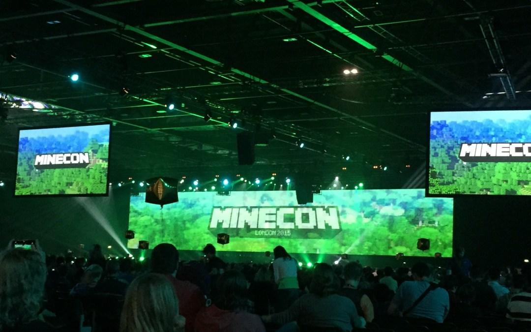 Minecon2015 – play in Copenhagen for one day