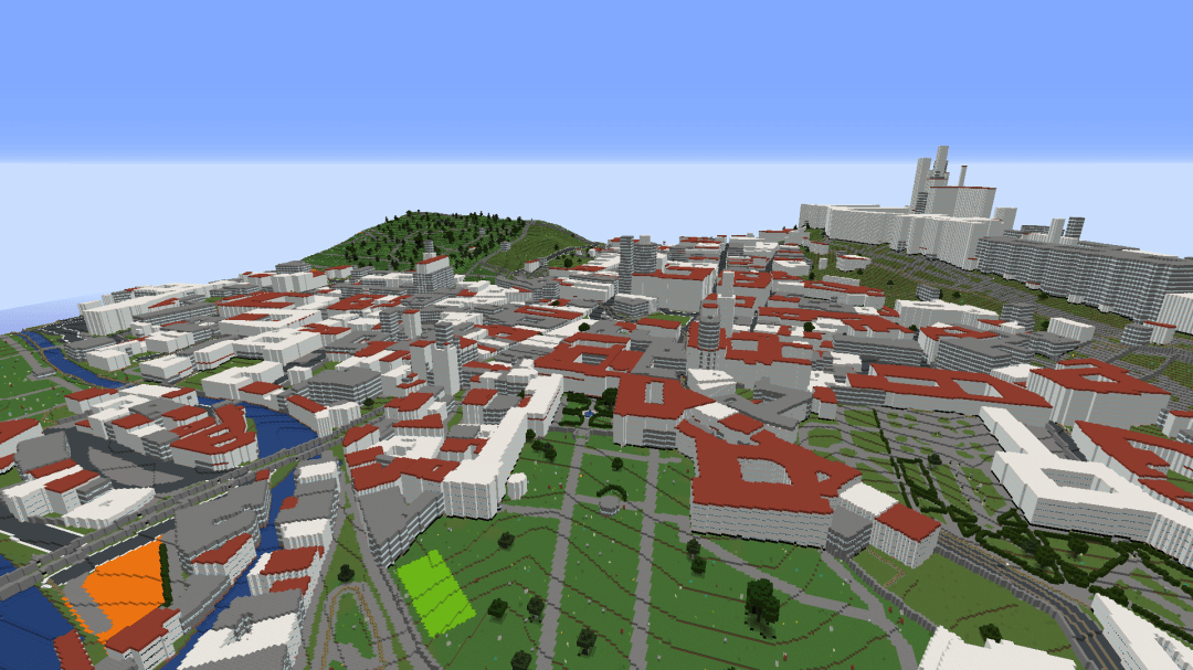 WorldBloxer Minecraft Map of Prague