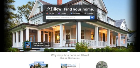 geobusiness-magazine-zillow-homepage-screenshot