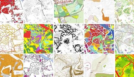konference Mapy jsou pro každého 2017, koláž Eliška Bradová