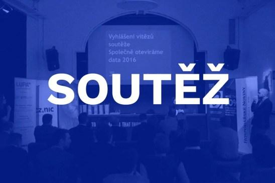 soutěž Společně otevíráme data / GeoBusiness.cz