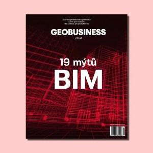 obálka časopisu GeoBusiness 1-2018