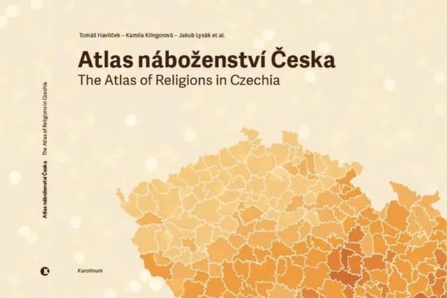 Atlas náboženství Česka, nakladatelství Karolinum / GeoBusiness
