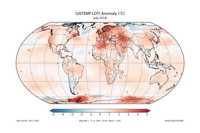 ukázka mapy světa v zobrazení Equal Earth, ilu archiv NASA / GeoBusiness