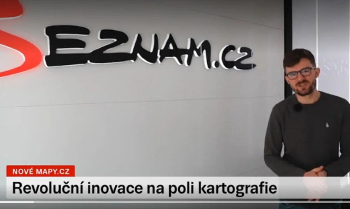 reportáž Mapy.cz na Seznam TV / GeoBusiness