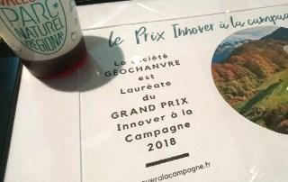 Géochanvre Lauréat du Grand Prix Innover à la Campagne