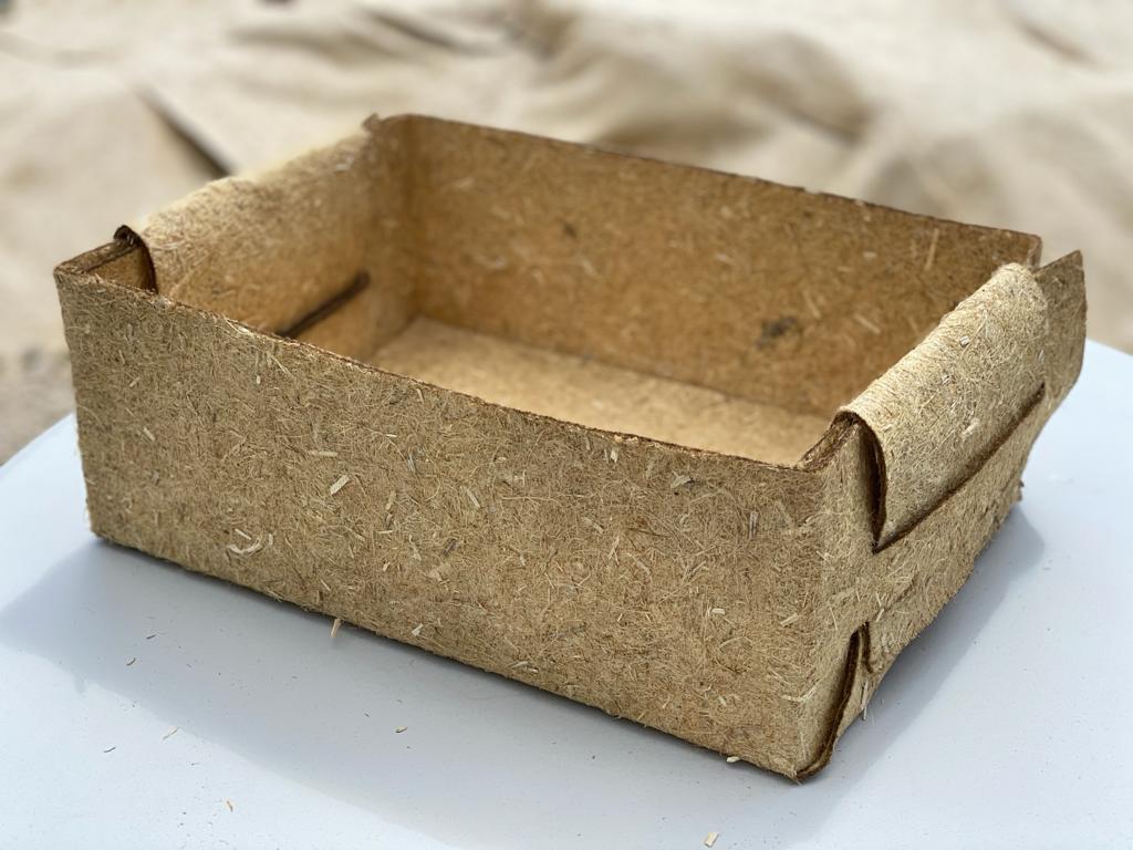 caissette végétale 100% chanvre eco-conçu