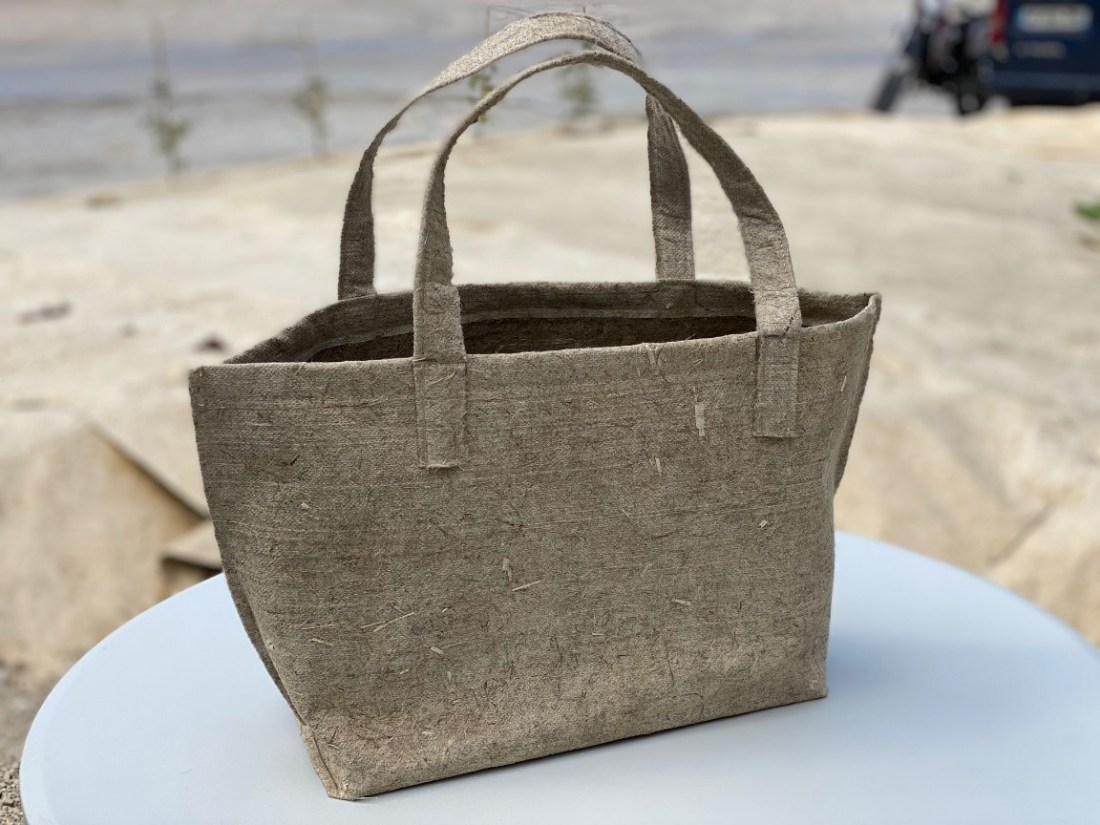 Sac Cabas 100% chanvre eco-conçu made in france