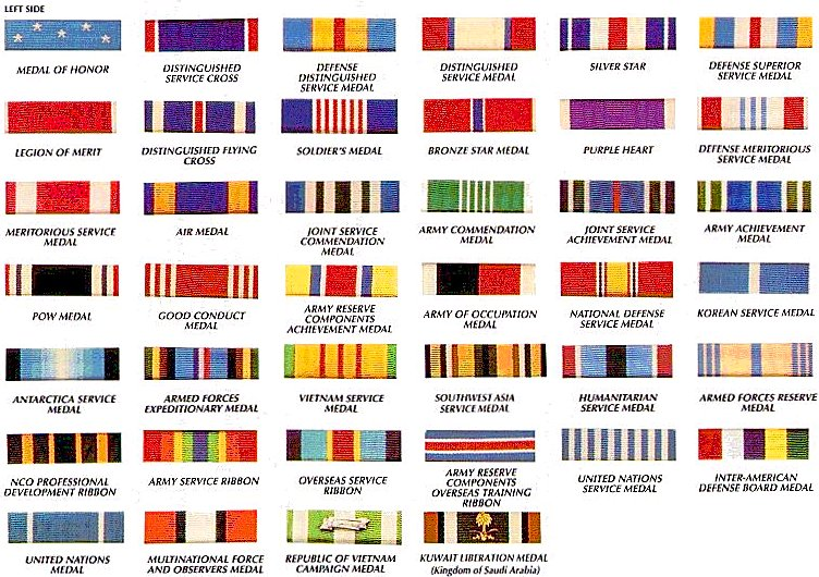 Us Military Ribbons Pictures