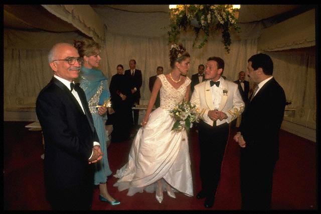 Queen Rania Wedding 5