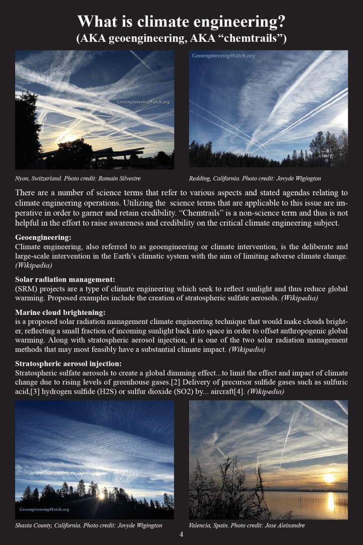 Climate Engineering Fact And Photo Summary - page 4